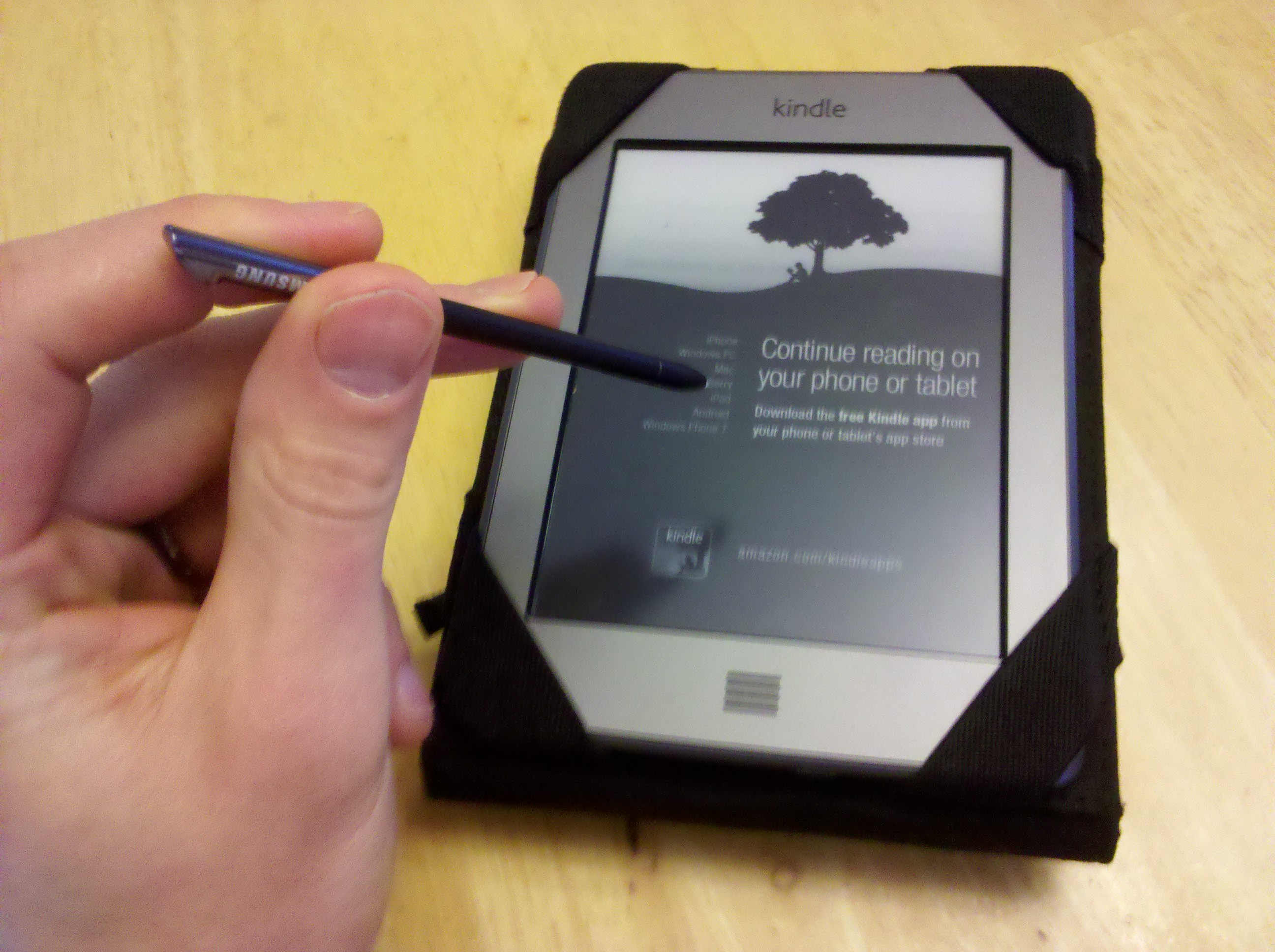 Phone Amazon Kindle For Android Phone interface android cell phone via amazon kindle touch objective