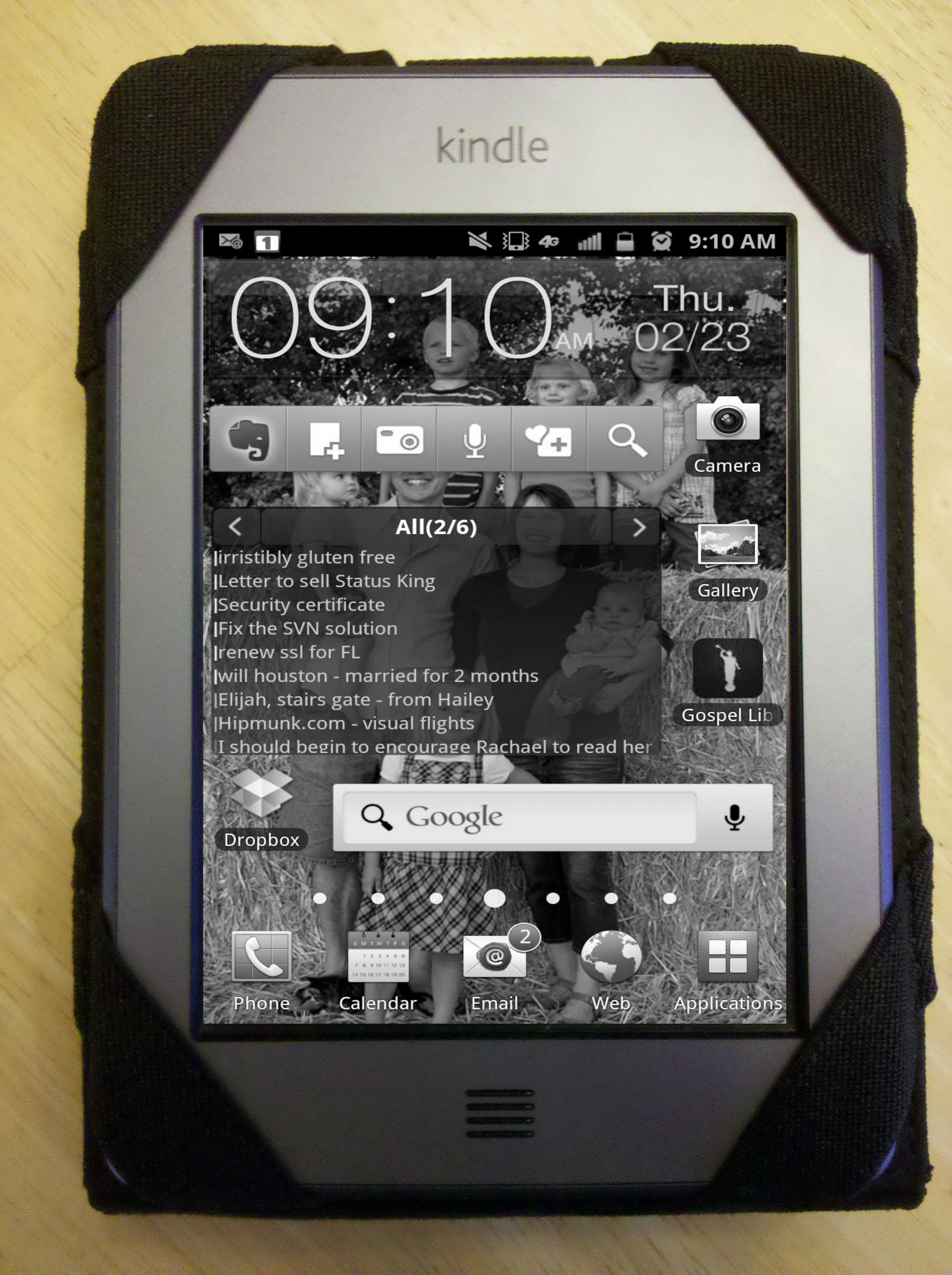 Phone Amazon Kindle For Android Phone interface android cell phone via amazon kindle touch project with background i have